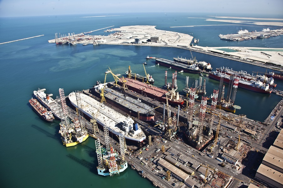 Drydocks world news drydocks world the international service providers to the shipping offshore oil gas and energy sectors won the iso 3834 2 2005 certificate for quality gumiabroncs Gallery