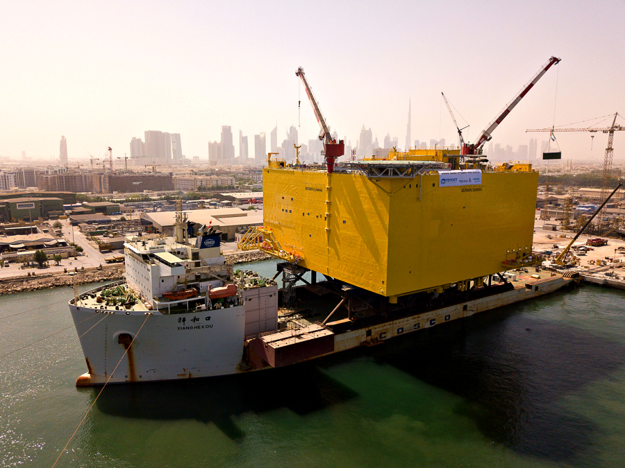 http://www.drydocks.gov.ae/cmsDrydocks World recognized for completing the heaviest load-out in the UAE