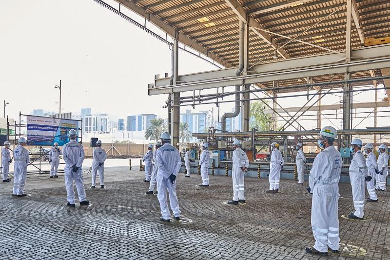 https://www.drydocks.gov.ae/cmsDrydocks World commences Jotun FPSO Fabrication of Turntable Project