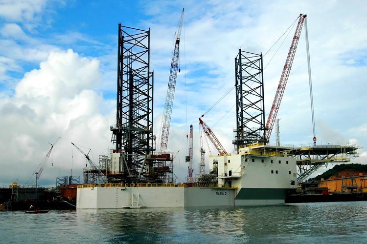 jack up construction vessels